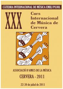 curs internacional de musica de cervera